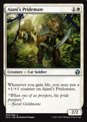Ajani's Pridemate on Channel Fireball
