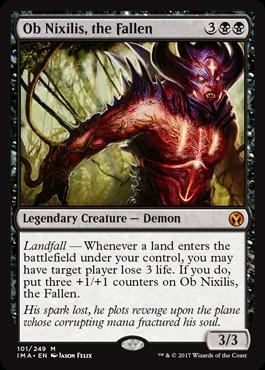 Ob Nixilis, the Fallen - Foil