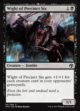 Wight of Precinct Six - Foil