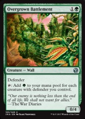 Overgrown Battlement - Foil