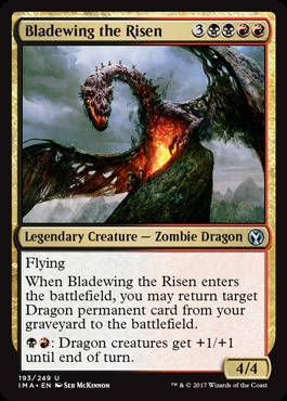 Bladewing the Risen - Foil