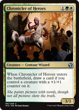 Chronicler of Heroes - Foil