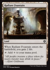 Radiant Fountain - Foil