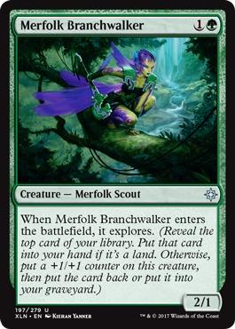 Merfolk Branchwalker - Foil