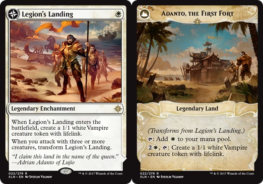 Legions Landing // Adanto, the First Fort - Foil