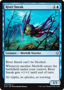 River Sneak - Foil