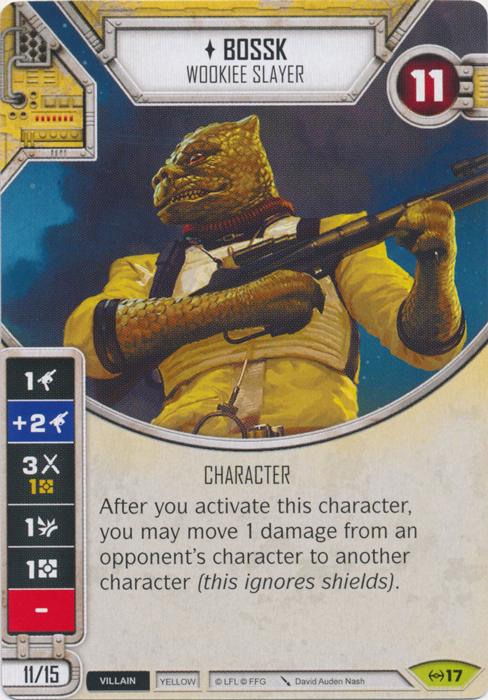 Bossk - Wookiee Slayer