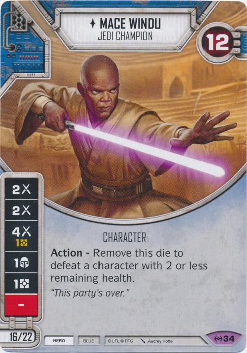 Mace Windu - Jedi Champion