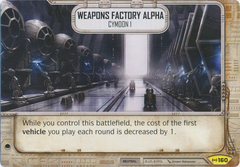 Weapons Factory Alpha - Cymoon 1