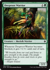 Deeproot Warrior - Foil