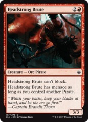Headstrong Brute - Foil