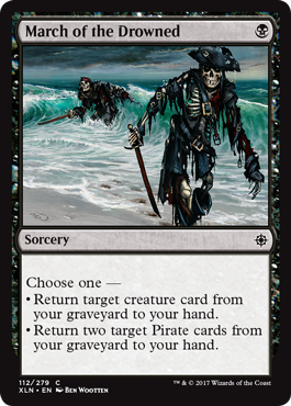 March of the Drowned - Foil