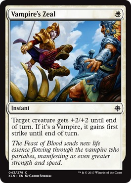 Vampires Zeal - Foil