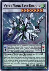 Clear Wing Fast Dragon - YA02-EN001 - Ultra Rare - Limited Edition on Channel Fireball