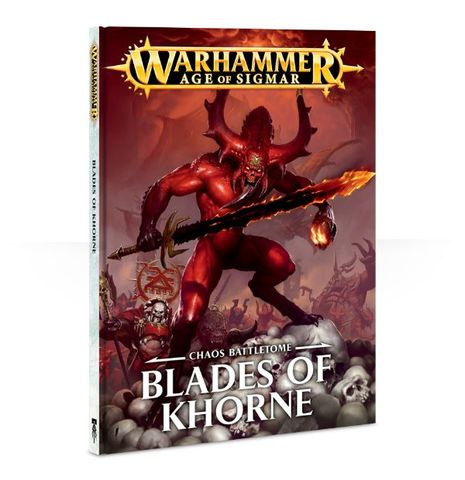 Battletome: Blades Of Khorne (Hb) Eng
