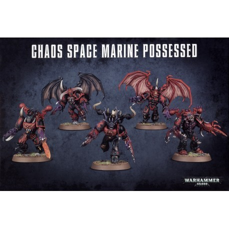 Chaos Space Marines Possessed