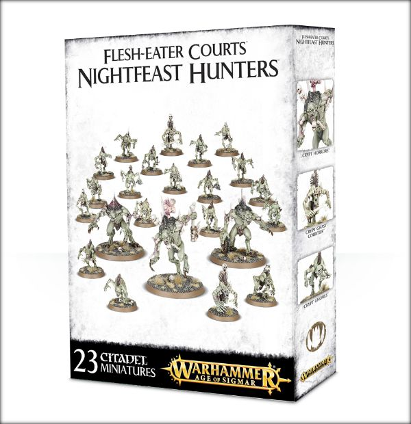 Flesh-Eater Courts Nightfeast Hunters ( w-100-09 )