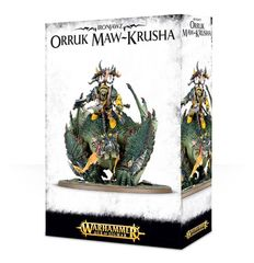 Ironjawz Orruk Maw-Krusha / Gordrakk, Fist of Gork ( 89-25 )