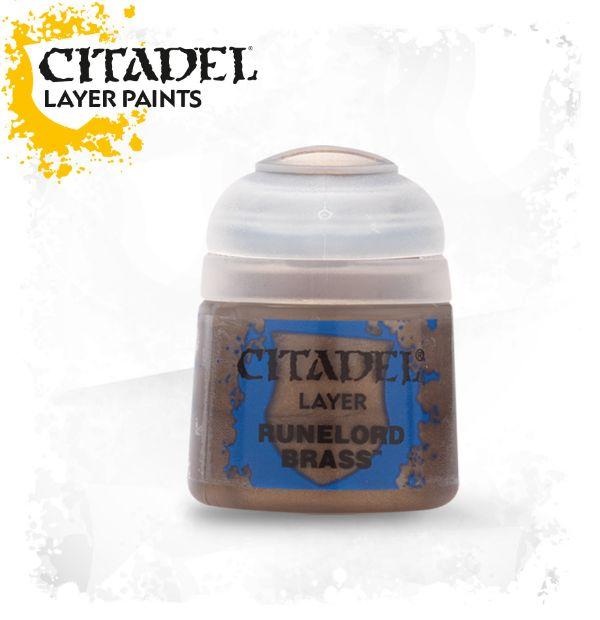 Citadel Paint 12ml Base - Runelord Brass