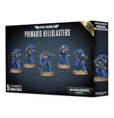 Space Marines Primaris Hellblasters Combat Squad