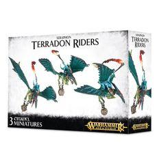 Seraphon Terradon Riders / Ripperdactyl Riders ( 88-13-w )