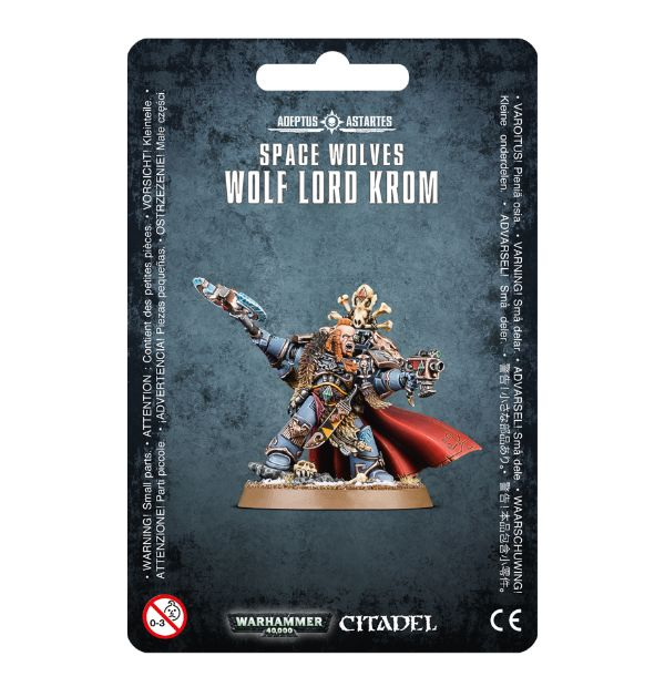 Space Wolves Wolf Lord Krom