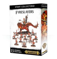 Warhammer AoS Start Collecting! Fyreslayers