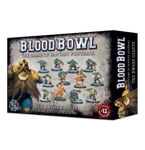 The Dwarf Giants Blood Bowl Team