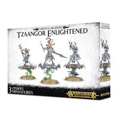 Tzeentch Arcanites Tzaangor Enlightened / Skyfires ( 83-74 )