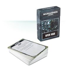 Accessory: Open War Cards (8th)