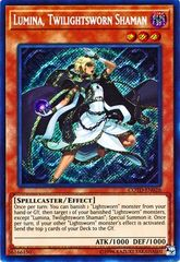 Lumina, Twilightsworn Shaman - COTD-EN026 - Secret Rare - Unlimited Edition on Channel Fireball