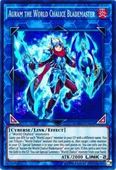 Auram the World Chalice Blademaster - COTD-EN049 - Super Rare - Unlimited Edition