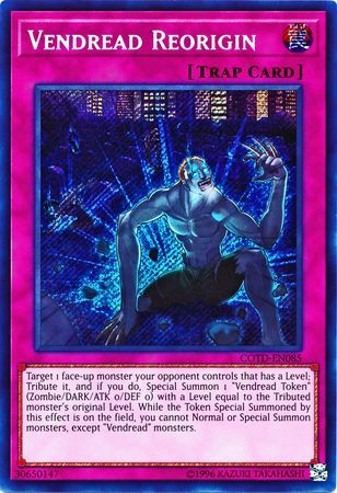 Vendread Reorigin - COTD-EN085 - Secret Rare - Unlimited Edition