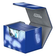 Ultimate Guard - Deck Case 80+ Sidewinder Chromiaskin - Blue