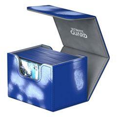 Ultimate Guard - Deck Case 80+ Sidewinder Chromiaskin - Blue