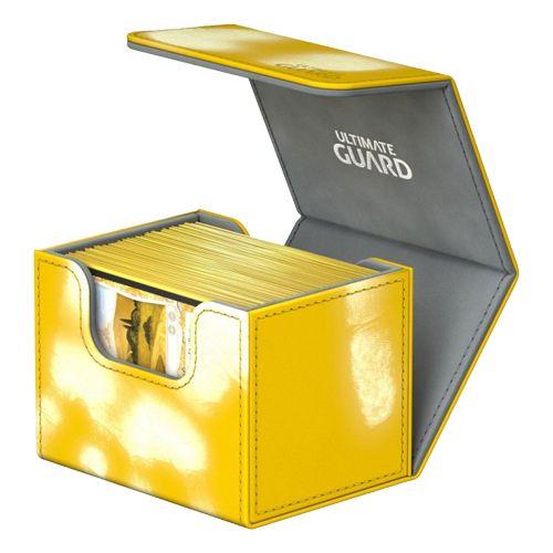 XENOSKIN DECK BOX ULTIMATE GUARD SIDEWINDER 80 AMBER