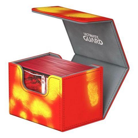Ultimate Guard - Deck Case 100+ Sidewinder Chromiaskin - Red
