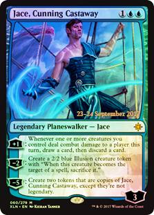 Jace, Cunning Castaway - Foil - Prerelease Promo