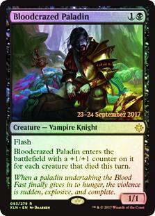 Bloodcrazed Paladin - Foil - Prerelease Promo
