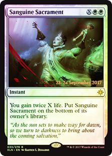 Sanguine Sacrament (XLN Prerelease Foil)