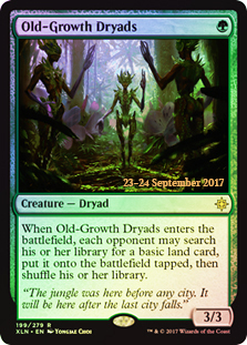 Old-Growth Dryads - Foil - Prerelease Promo