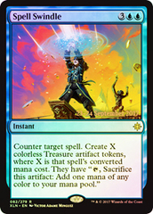 Spell Swindle - Foil - Prerelease Promo