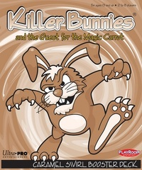 Killer Bunnies and the Quest for the Magic Carrot - Caramel Swirl Booster