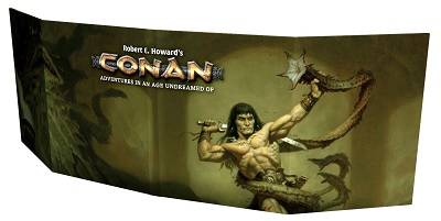 Conan: Gm Screen with Supplements