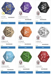 Infinity Rpg Dice Set - Pan Oceania Box