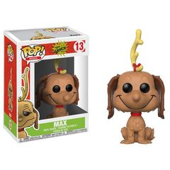 Pop! Books 13: Dr. Seuss - How The Grinch Stole Christmas - Max The Dog