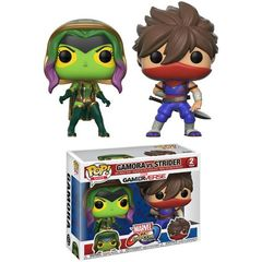 Pop! Games: Capcom Vs. Marvel: 2 Pack - Gamora Vs Strider