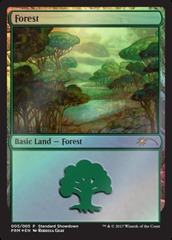 Forest - Foil (Standard Showdown)