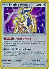 Shining Arceus - 57/73 - Shiny Holo Rare