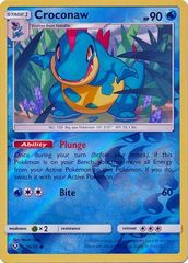 Croconaw - 19/73 - Common - Reverse Holo